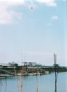 漁港と空の素材 [FYI00134258]