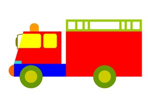 消防車の写真素材 [FYI00134491]