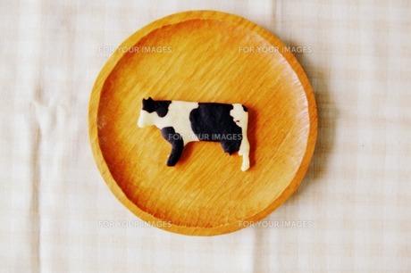 牛クッキーの写真素材 [FYI00134547]