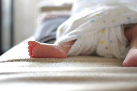 赤ちゃんの足の写真素材 [FYI00134617]