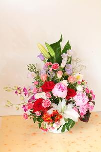お祝いの生花・1の写真素材 [FYI00134902]