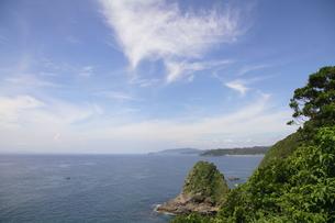 夏の空と海の写真素材 [FYI00134935]