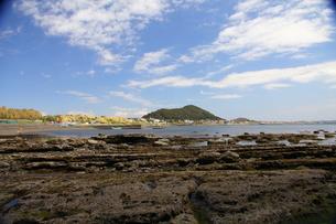 青い空と海の写真素材 [FYI00134947]