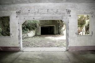 大房岬要塞の兵員待機所の写真素材 [FYI00135020]