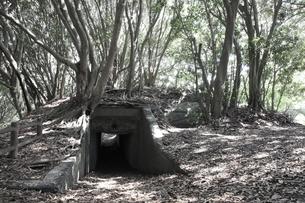 大房岬要塞の第1砲塔弾薬庫の写真素材 [FYI00135170]