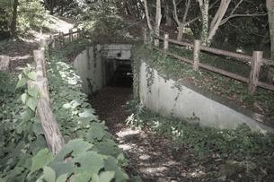 大房岬要塞の第2砲塔弾薬庫の写真素材 [FYI00135182]