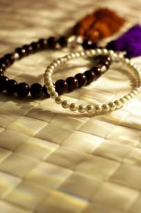 数珠の写真素材 [FYI00135398]