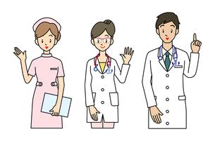 病院職員の写真素材 [FYI00136012]