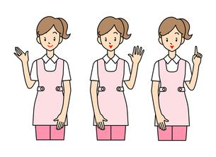 女性の介護士の写真素材 [FYI00136058]