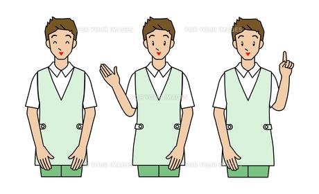 介護士の若い男性の素材 [FYI00136067]