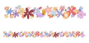 花の模様の写真素材 [FYI00136069]