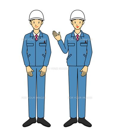 作業服男性の写真素材 [FYI00136114]