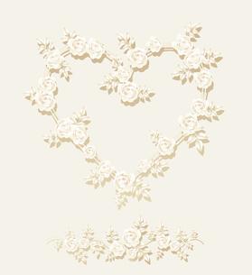 バラのフレームの写真素材 [FYI00136118]