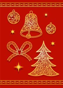 クリスマスの素材 [FYI00136125]