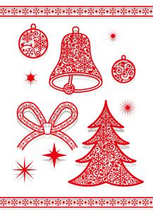 クリスマスの素材 [FYI00136130]