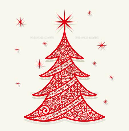 クリスマスカードの素材 [FYI00136137]