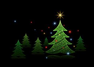クリスマスカードの素材 [FYI00136145]