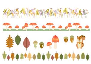 秋のモチーフの写真素材 [FYI00136153]