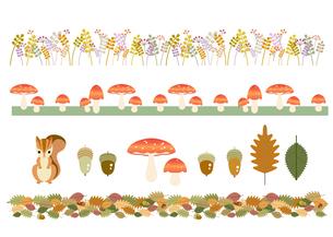 秋のモチーフの素材 [FYI00136187]