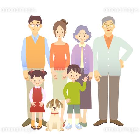 家族1の写真素材 [FYI00136188]