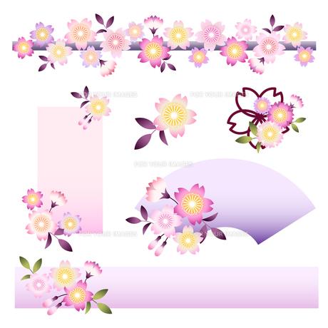 桜の写真素材 [FYI00136193]