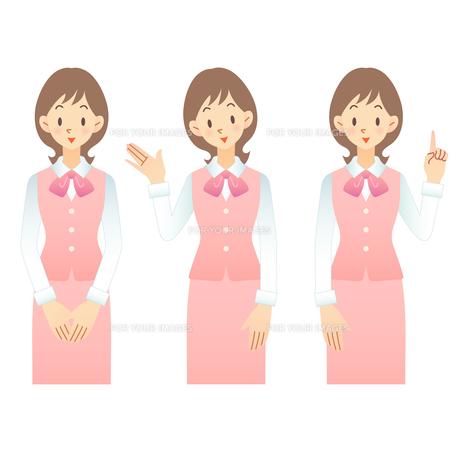 女性 インフォメーションの素材 [FYI00136239]