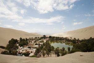 ペルーのオアシスの写真素材 [FYI00136287]