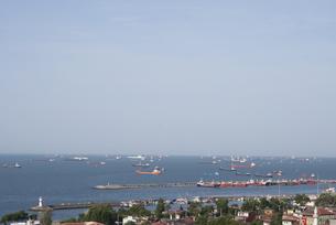 イスタンブールの港町の写真素材 [FYI00136296]