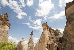 トルコ、カッパドキアの写真素材 [FYI00136301]