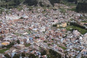 高台からのコパカバーナの町並み の写真素材 [FYI00136309]