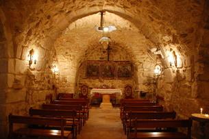聖アナニア教会の写真素材 [FYI00136381]