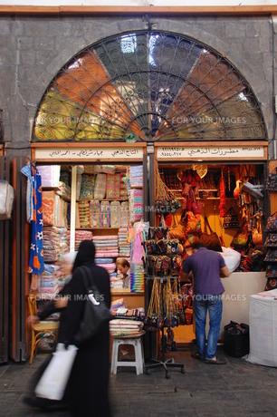 ダマスカス旧市街。その2の写真素材 [FYI00136396]