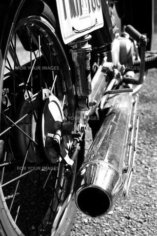 私のバイク。の写真素材 [FYI00136405]