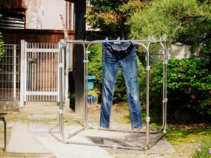 洗濯日和の写真素材 [FYI00136539]