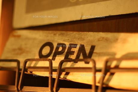 OPENの写真素材 [FYI00137669]