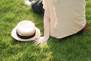 麦わら帽子の写真素材 [FYI00137691]
