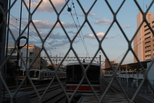 Fence01の写真素材 [FYI00137692]