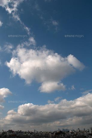 青空と街の写真素材 [FYI00137705]