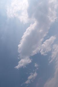 clouds blue sky 02の写真素材 [FYI00137715]