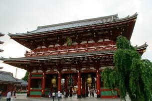 宝蔵門の写真素材 [FYI00138048]