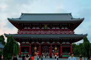 浅草寺の写真素材 [FYI00138067]