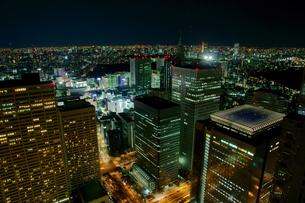 新宿の夜景の写真素材 [FYI00138444]