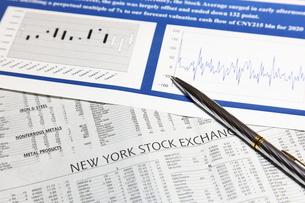 ニューヨーク株式市場の写真素材 [FYI00138951]