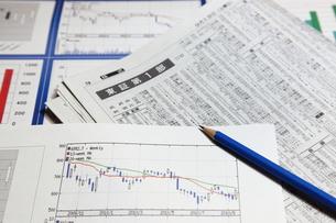 株式市場の写真素材 [FYI00138953]