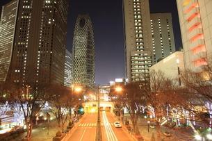 街の夜景の写真素材 [FYI00138985]