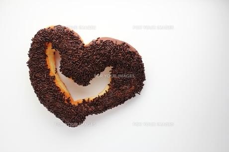 ハートのドーナツの写真素材 [FYI00139141]