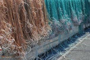 漁網の写真素材 [FYI00139455]