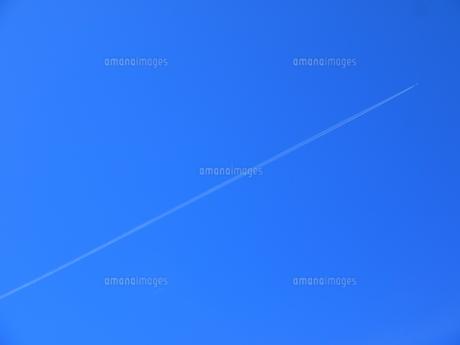 飛行機雲の写真素材 [FYI00139493]