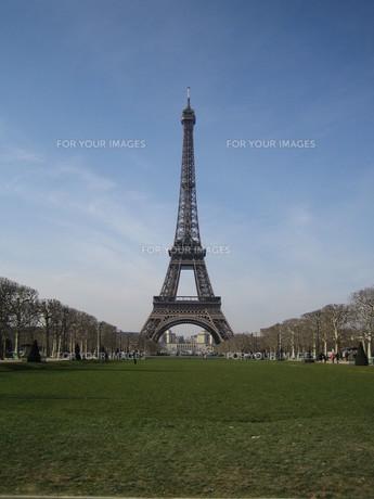 Eiffel Towerの写真素材 [FYI00139516]