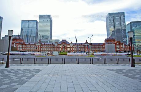 東京駅の写真素材 [FYI00139604]